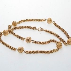 Chanel beautiful rare necklace.